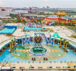 2018上海海昌海洋世界展池造景施工