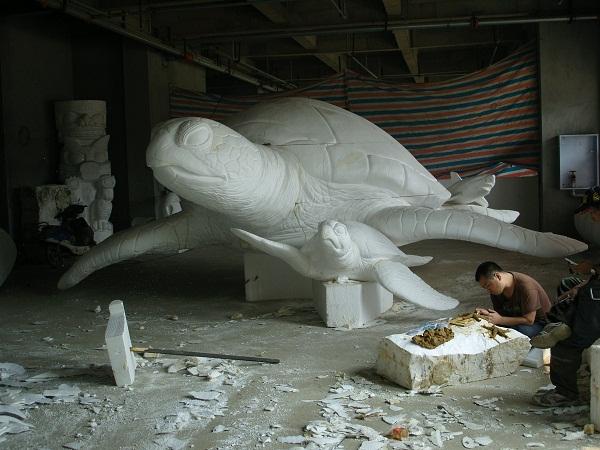 泡沫雕塑海龟