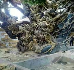 沈阳大连仿木雕塑
