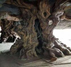 大连仿木雕塑