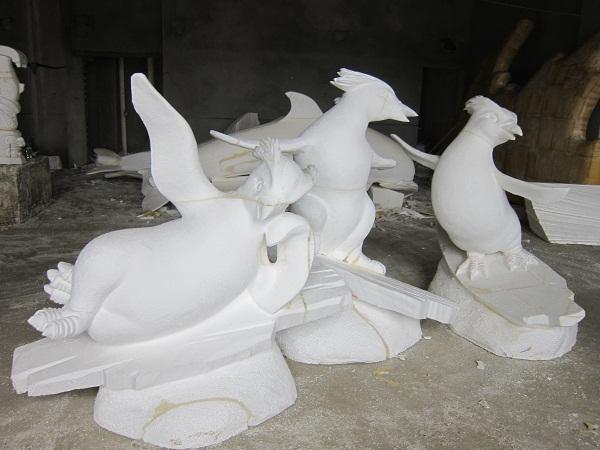 分享制作泡沫雕塑的工序注意事项